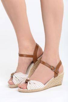 Sandale cu talpa ortopedica Siruela Bej