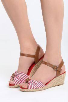 Sandale cu talpa ortopedica Siruela Rosii