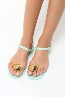 Sandale dama Abigaia Turcoaz