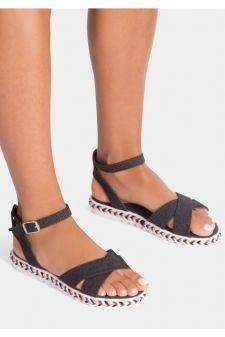 Sandale dama Adelina Negre