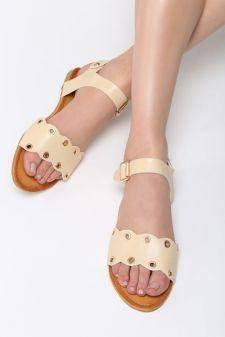 Sandale dama Almeria Bej