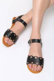 Sandale dama Almeria Negre