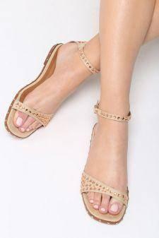 Sandale dama Altares Bej