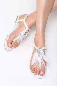 Sandale dama Andira Albe