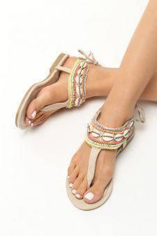 Sandale dama Annikki Bej