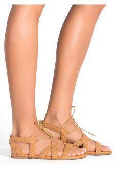 Sandale dama Athena Camel