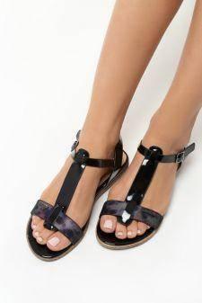 Sandale dama Beatrice Negre