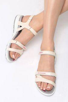 Sandale dama Bellas Bej