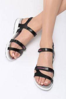 Sandale dama Bellas Negre