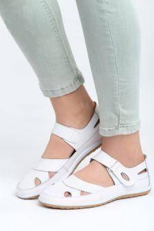 Sandale dama Branch Albe