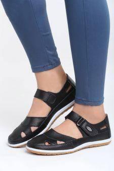Sandale dama Branch Negre