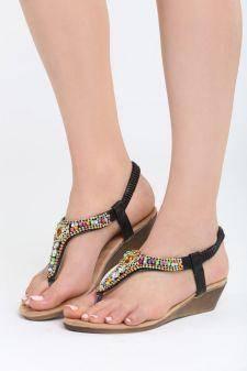 Sandale dama Brasilia Negre
