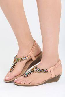 Sandale dama Brasilia Roz