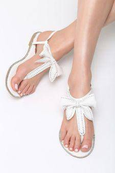 Sandale dama Cardona Albe