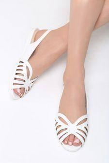 Sandale dama Criolla Albe