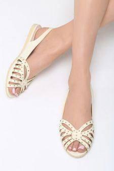 Sandale dama Criolla Galbene