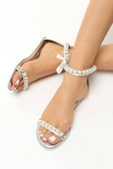 Sandale dama Daiana Argintii