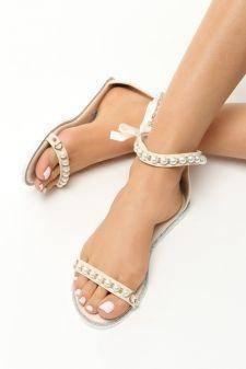 Sandale dama Daiana Bej