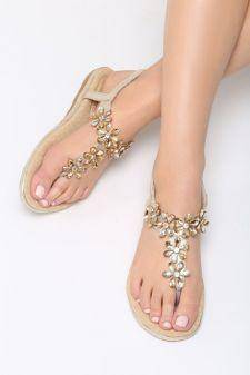 Sandale dama Danseys Aurii