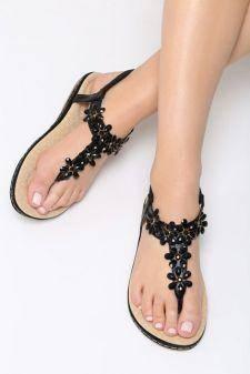 Sandale dama Danseys Negre