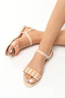 Sandale dama Eforie Bej