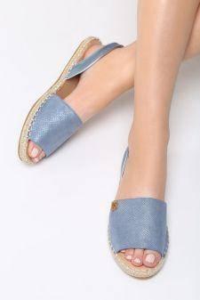 Sandale dama Erizos Albastre