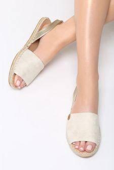 Sandale dama Erizos Bej