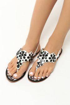 Sandale dama Florentina Negre