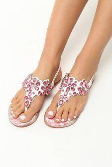 Sandale dama Florentina Roz