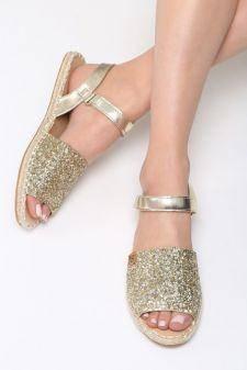 Sandale dama Foyel Aurii