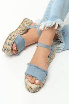 Sandale dama Freia Bleu