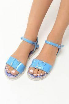 Sandale dama Geanina Navy