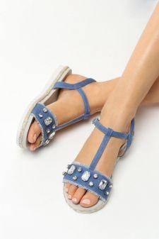 Sandale dama Hateya Navy