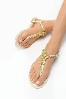 Sandale dama Idil Bej