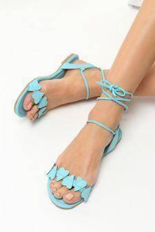 Sandale dama Ivona Albastre