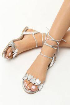 Sandale dama Ivona Argintii