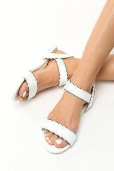 Sandale dama Jeni Albe