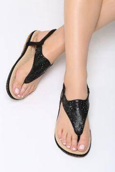 Sandale dama Naseby Negre