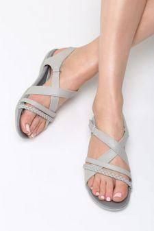 Sandale dama Panduro Gri