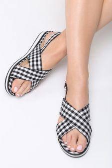 Sandale dama Picnic Negre
