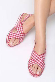 Sandale dama Picnic Rosii