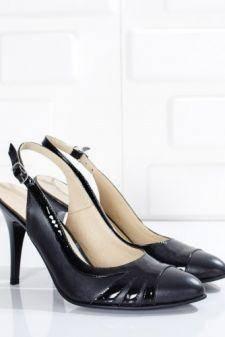 Sandale dama Piele Adolzin negre