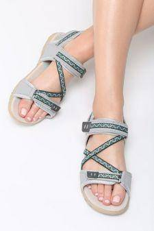 Sandale dama Pissa Gri