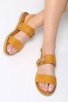 Sandale dama Tesalia Galbene