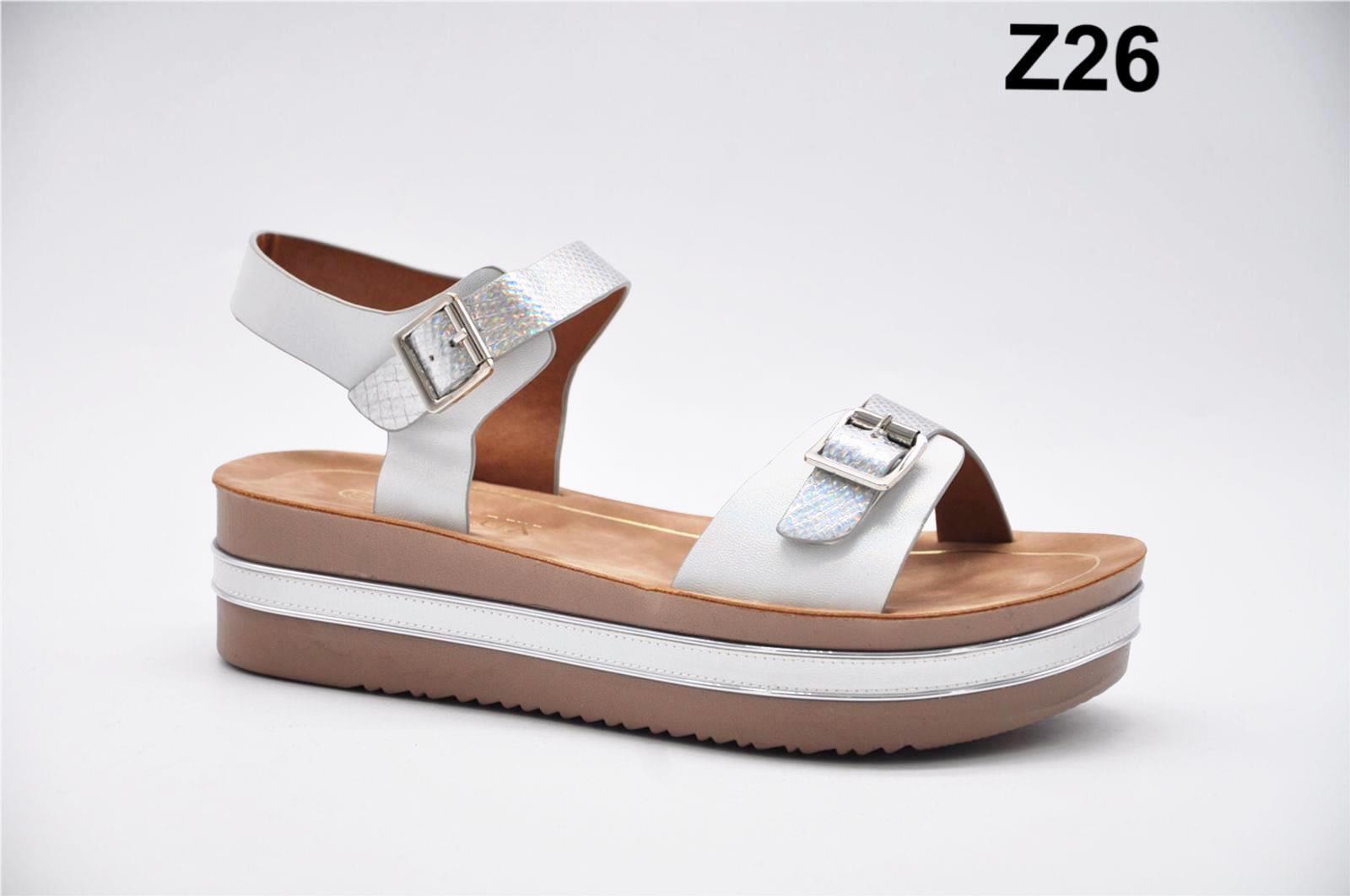 Sandale dama alb cu argintiu Monica2