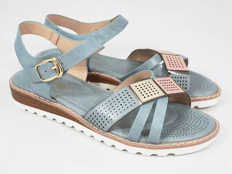 Sandale dama albastre Irina