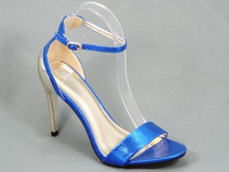 Sandale dama albastre toc 10