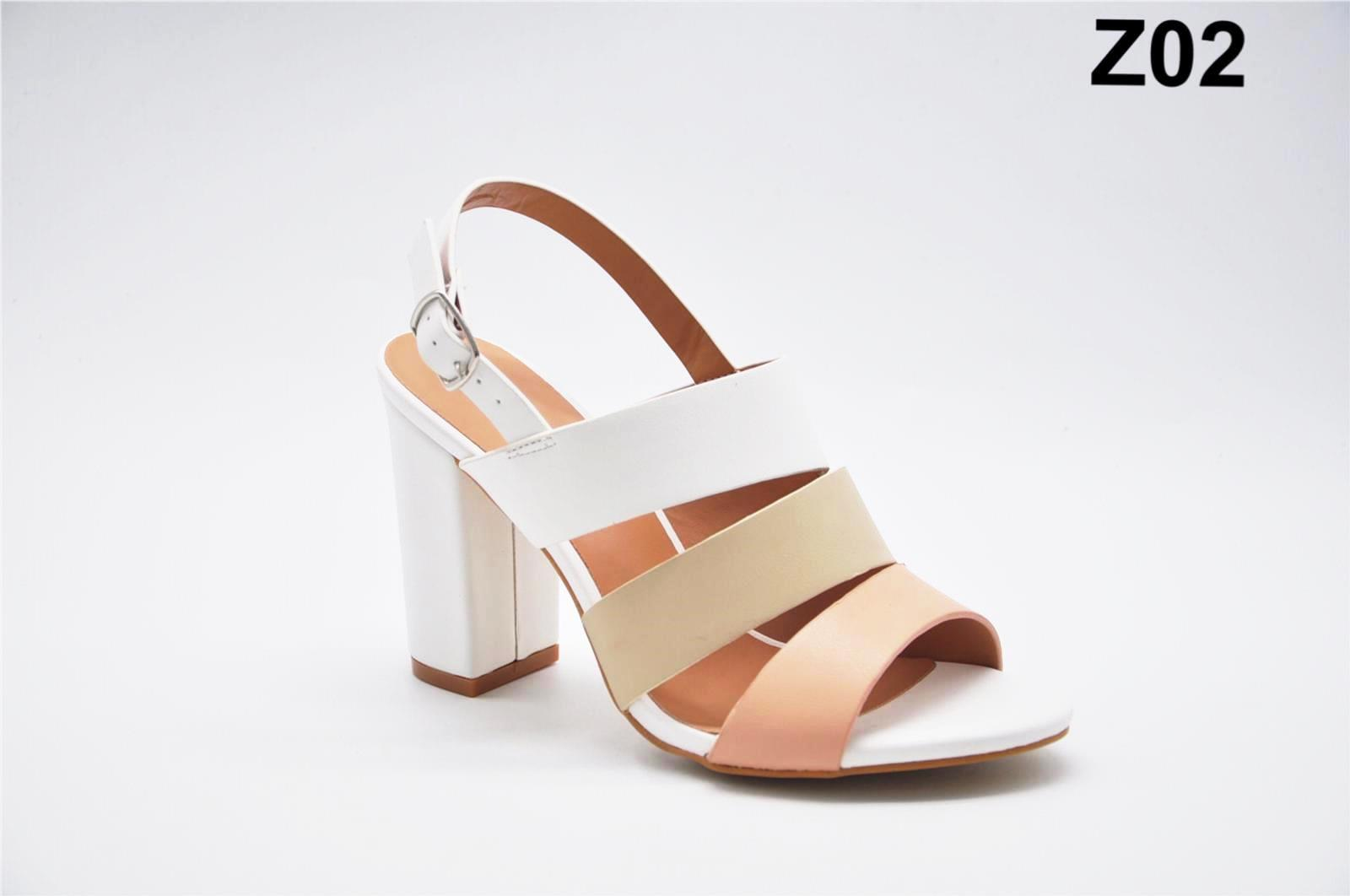 Sandale dama albe Flory