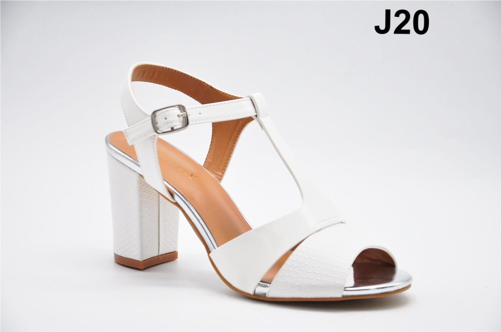 Sandale dama albe Janette2