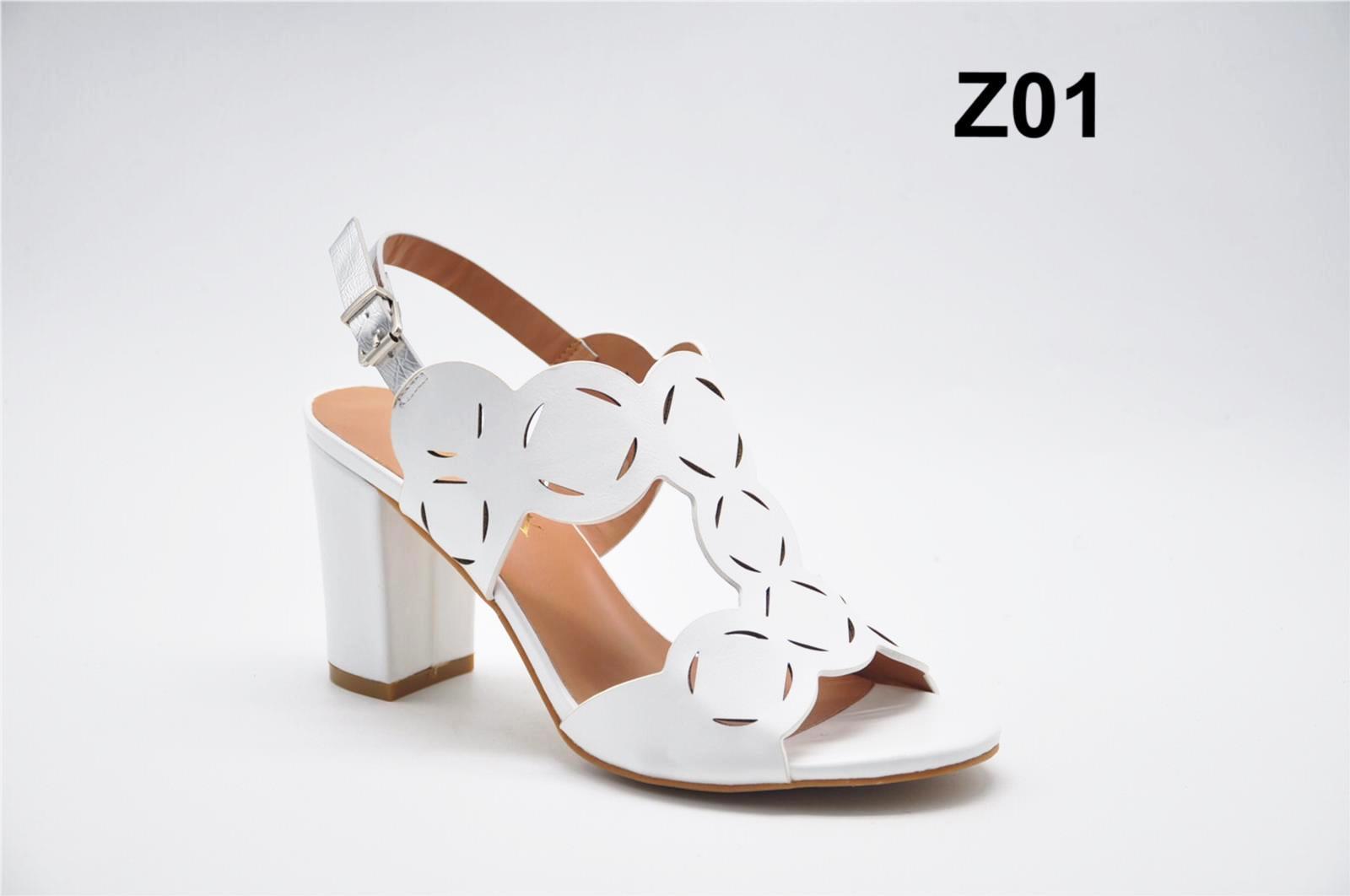 Sandale dama albe Olina